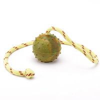 K9 Ball with Rope-Activity Dog Toy