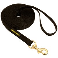 Professional Nylon Dog Leash for Tracking in any Weather