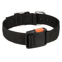 All Weather Practicable Nylon Dog Collar with Quick Release Buckle